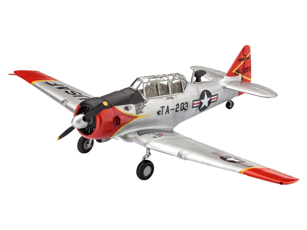 REVELL T-6G TEXAN 63924 1:72 Plastic Model Kit