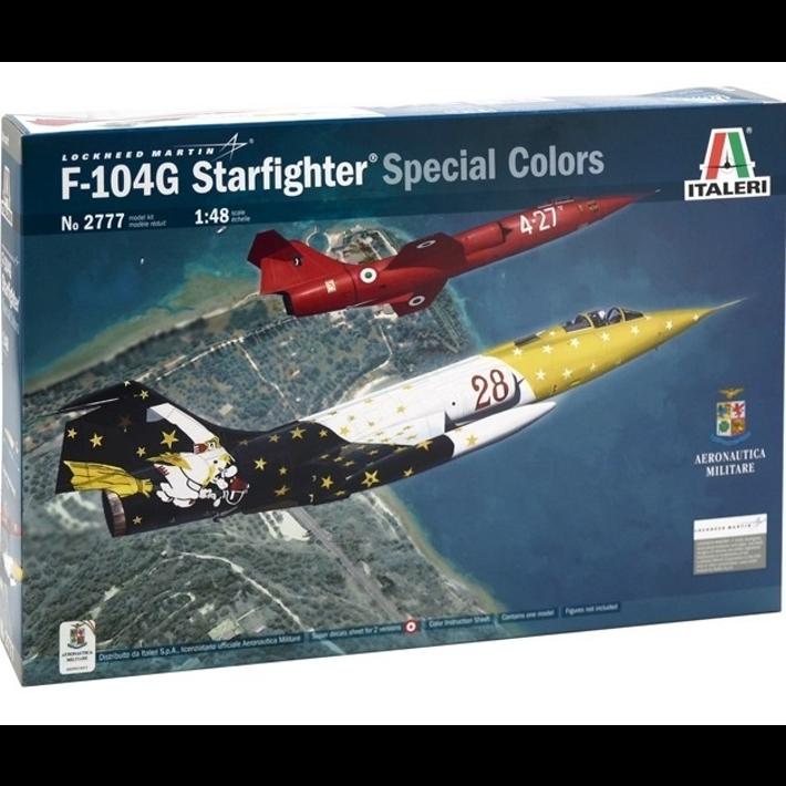 F-104G STARFIGHTER ITALERI 1/48 Plastic Model Kit (2777)