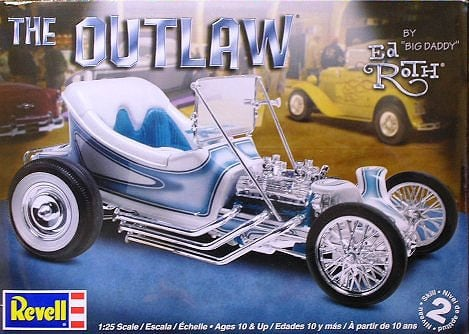REVELL Ed Roth The Outlaw 4294  1:25   Plastic Model Kit