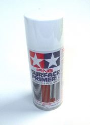 87044   TAMIYA ACRYLIC PAINT SURFACE PRIMER FINE WHITE LARGE