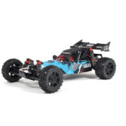 ARRMA 1:10 RAIDER BAJA BUGGY (blue version with black wheels and red shock caps)