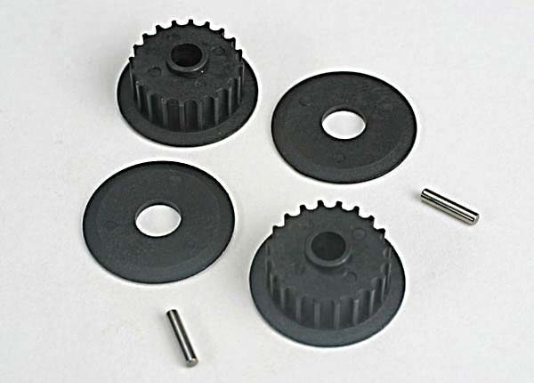 4895 (PART) TRAXXAS PULLEYS 20 GROOVE MIDDLE
