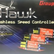 HAWK ESC 40AMP HV BRUSHLESS (FWD/REV)