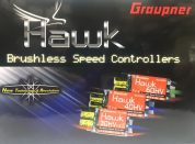 HAWK ESC 50AMP HV BRUSHLESS  (FWD/REV)