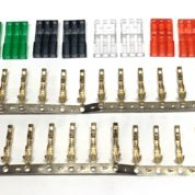 TY1 JR MALE CONNECTOR KIT 4 COLORS 2 EACH GR/RD/SM/CL TY40741