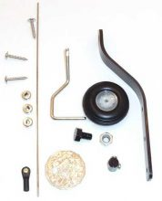 50CC CARBON TAIL WHEEL SYSTEM