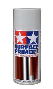 87042  TAMIYA ACRYLIC PAINT SURFACE PRIMER (L) GRAY