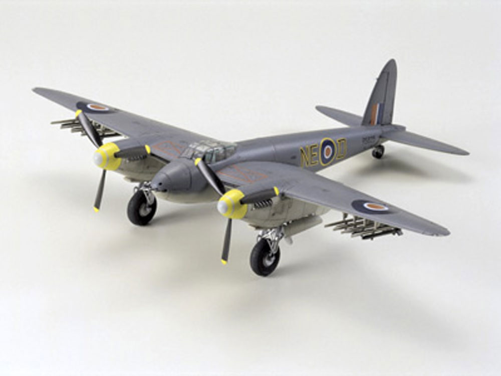 DE HAVILLAND MOSQUITO TAMIYA T60747 Plastic Model Kit