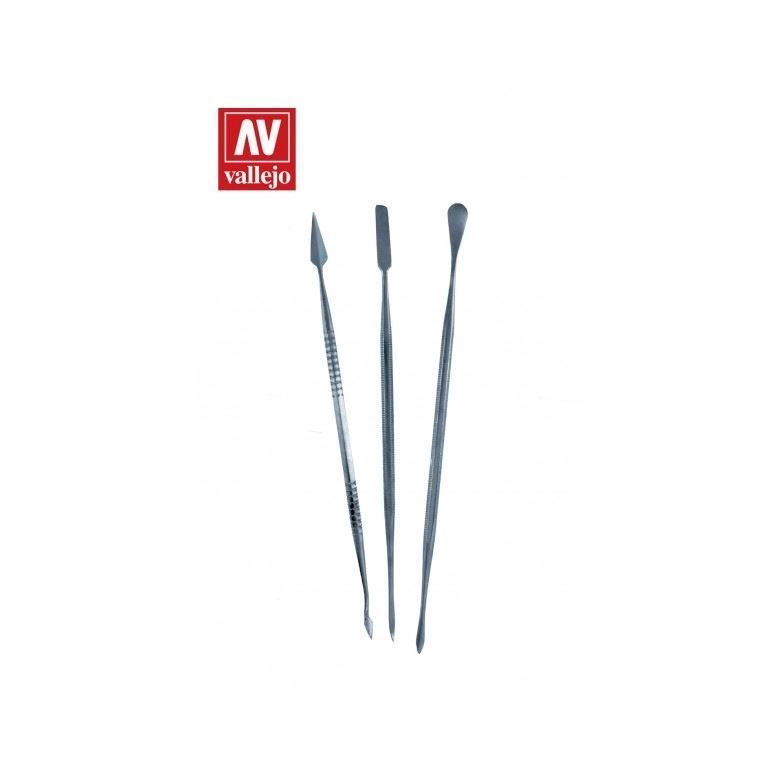 VALLEJO SET 3 S/S CARVERS AVT02002