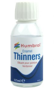HUMBROL ENAMEL THINNERS 125ML 7430