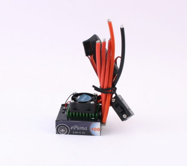 HIFEI EPUMA 100A CAR ESC+FAN