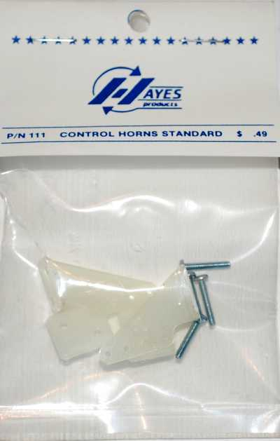 HAYES CONTROL HORNS STANDARD