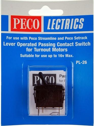 PECO PL26B PASSING CONT SWITCH BLACK