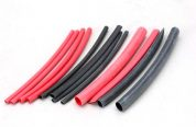 HEAT SHRINK TUBING 25MM X 1M RED