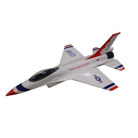 F-16 WHITE EDF RTFLY 2.4G 4CH SAPAC