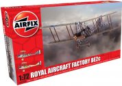 ROYAL AIR FACTORY BE2C AIRFIX 02104 Plastic Model Kit
