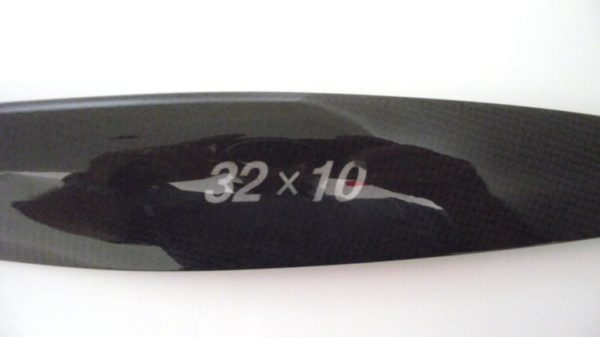 XOAR PROP 32X10 HOLLOW CARBON 2 BLADE