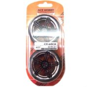 ACE DRIFT TYRE&RIMS BLACK/CHROME