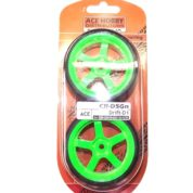ACE DRIFT TYRE&RIMS FLUORO GREEN
