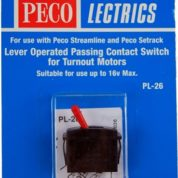 PECO PL26R PASSING CONT SWITCH RED