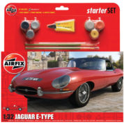 AIFIX STARTER SET E TYPE JAG AIRFIX 55200 Plastic Model Kit