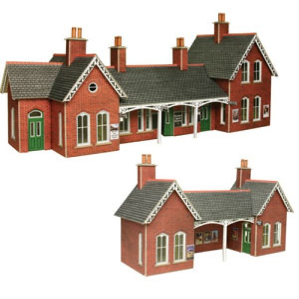 METCALFE PO237 COUNTRY STAION BRICK
