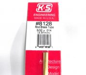 K&S METAL #8128 5/32' OD BRASS TUBE 1PC
