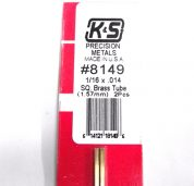 K&S METAL #8149 1/16' OD BRASS TUBE 1PC