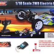 RIVER HOBBY VRX BULLET EBD BRUSHED 2WD BUGGY RTR (COMBO VERSION)