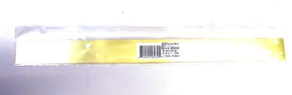 K&S METAL #8232 .016 X 1' BRASS STRIP 1PC