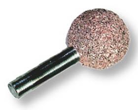 PERMA-GRIT LR4C BALL ROTARY 20MM COARSE 6MM ARB