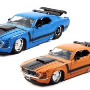 1:24 BTM BLUE 1970 FORD MUSTANG BOSS 429 JA98026