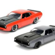 1:24 BTM RED 1973 PLYMOUTH BARRACUDA JA98235