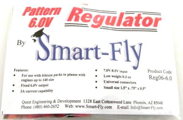 REGULATOR PATTERN 6VOLT 3AMP ( SMART-FLY )
