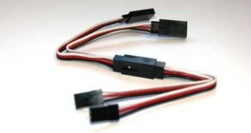 TY1 6 PIN CONNECTION SET SERVO SIDE 40CM TY406940