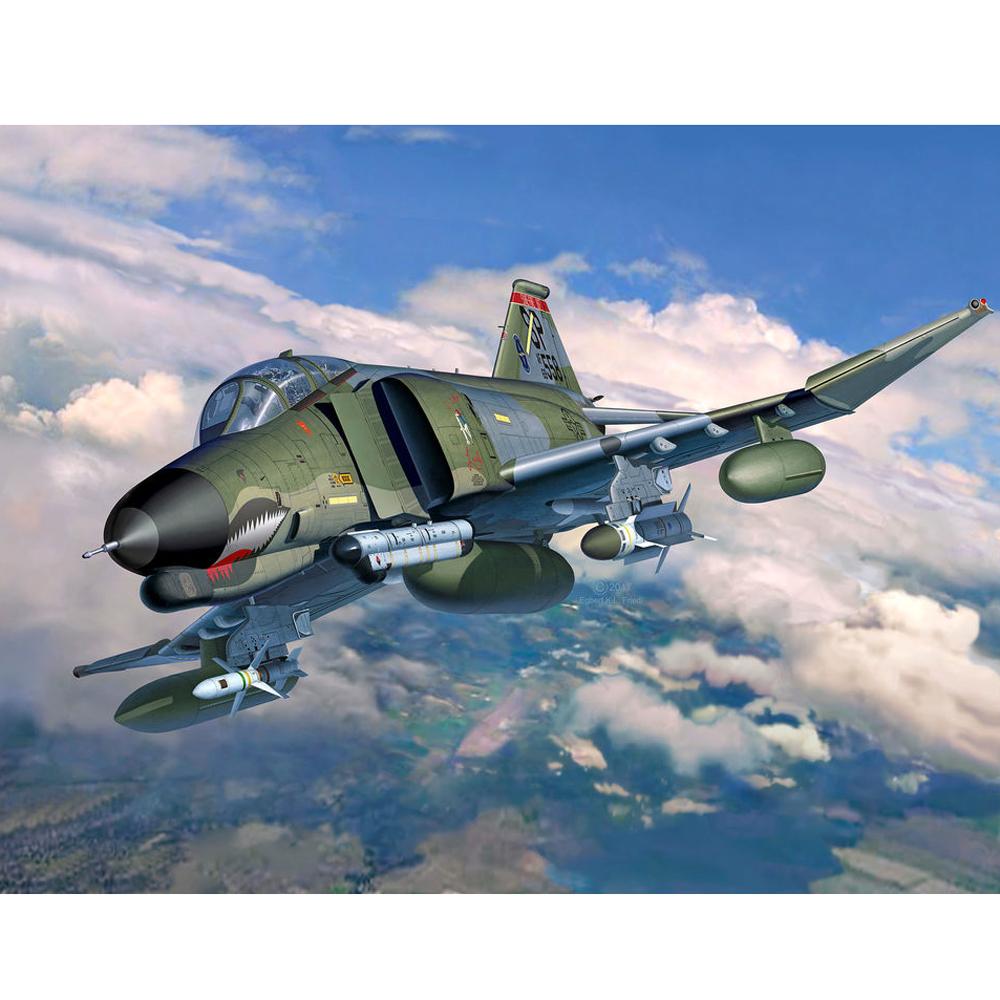 F-4G PHANTOM USAF 1/32 REVELL 04959 Plastic Model Kit