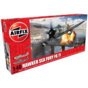 HAWKER SEA FURY 1/48 AIRFIX 06105 Plastic Model Kit
