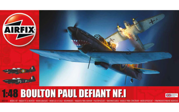 BOULTON PAUL 1/48 AIRFIX 05132 Plastic Model Kit