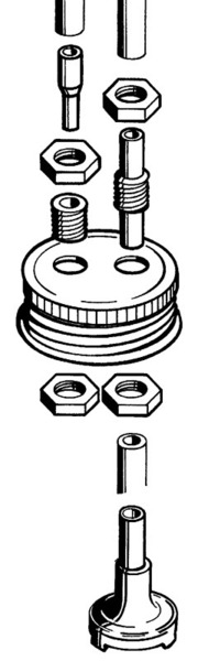 FUEL CAN CAP FITTING DUBRO 192