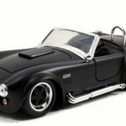 1:24 BLACK 1965 Shelby Cobra Diecast Model JA97403
