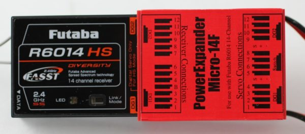 POWER EXPANDER FUTABA MICRO 14 ( SMART-FLY )