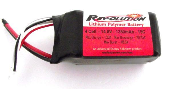 REVOLUTION LIPO 1350MAH 14.8V 15C