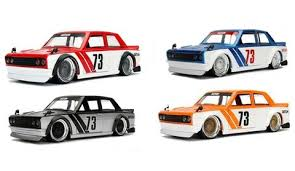 1:24 JDM RED 1973 DATSUN 510 JA99094