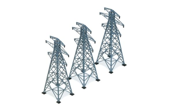 HORNBY R530 3 ELECTRICITY1 PYLONS