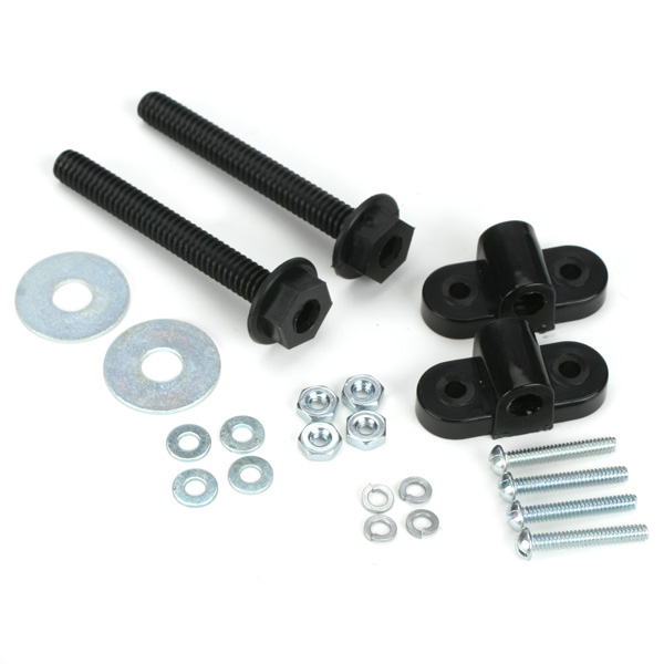 NYLON WING MOUNTING KIT 1PCPK DUBRO 256
