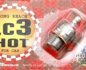 OS GLOW PLUG LC3 LONGREACH HOT ( SUIT TRAXXAS )