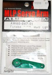 AIR WILD ALLOY SERVO ARM HALF 1.5' SUIT 9152 FUTABA SERVO