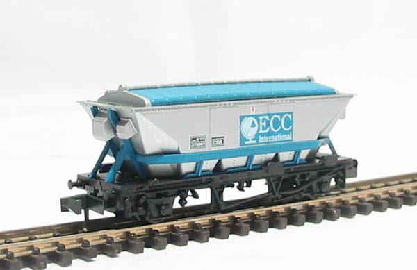 PECO NR305 CDA CHINA CLAY HOPPER ECC N SCALE