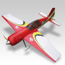 YAK 54 35% RED/YELLOW/BLACK/WHITE THUNDER TIGER/SD