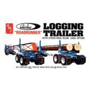 1:25 LOGGING TRAILER PEERLESS Plastic Model Kit AMT (RAMT628)